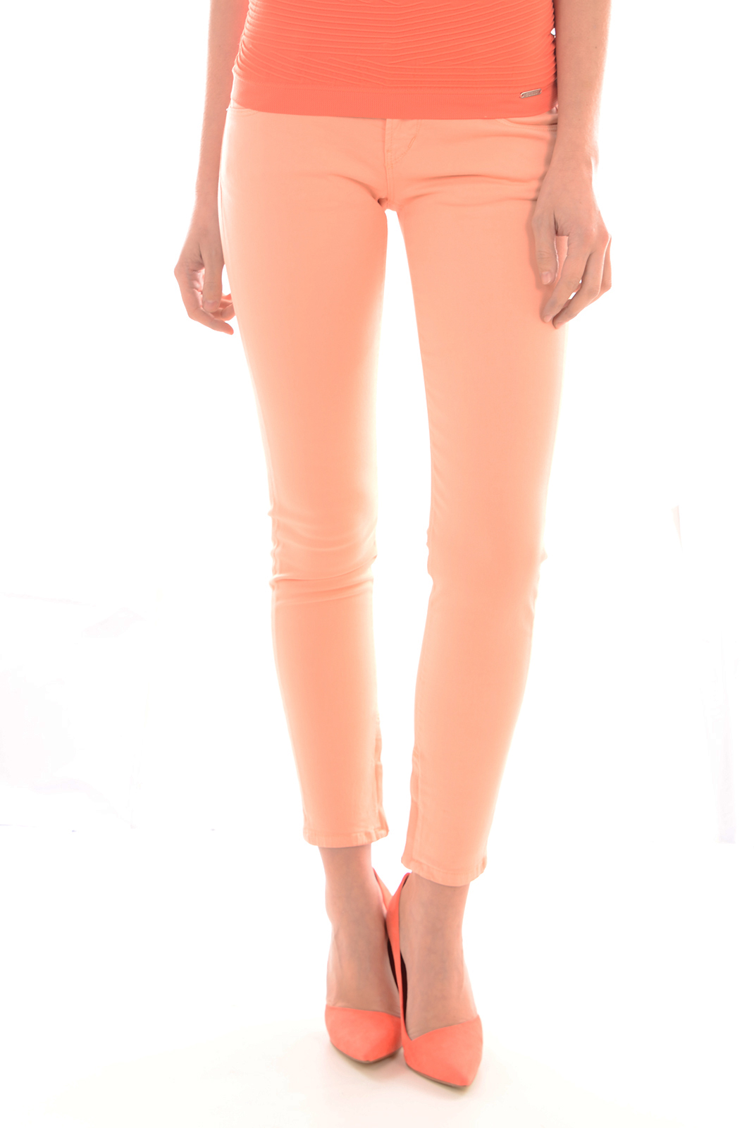 Pantalons  Guess jeans W44003 W3BQ0 G318 ORANGE