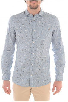 JANUS SHIRT ONE POCKET LS - HOMME JACK AND JONES