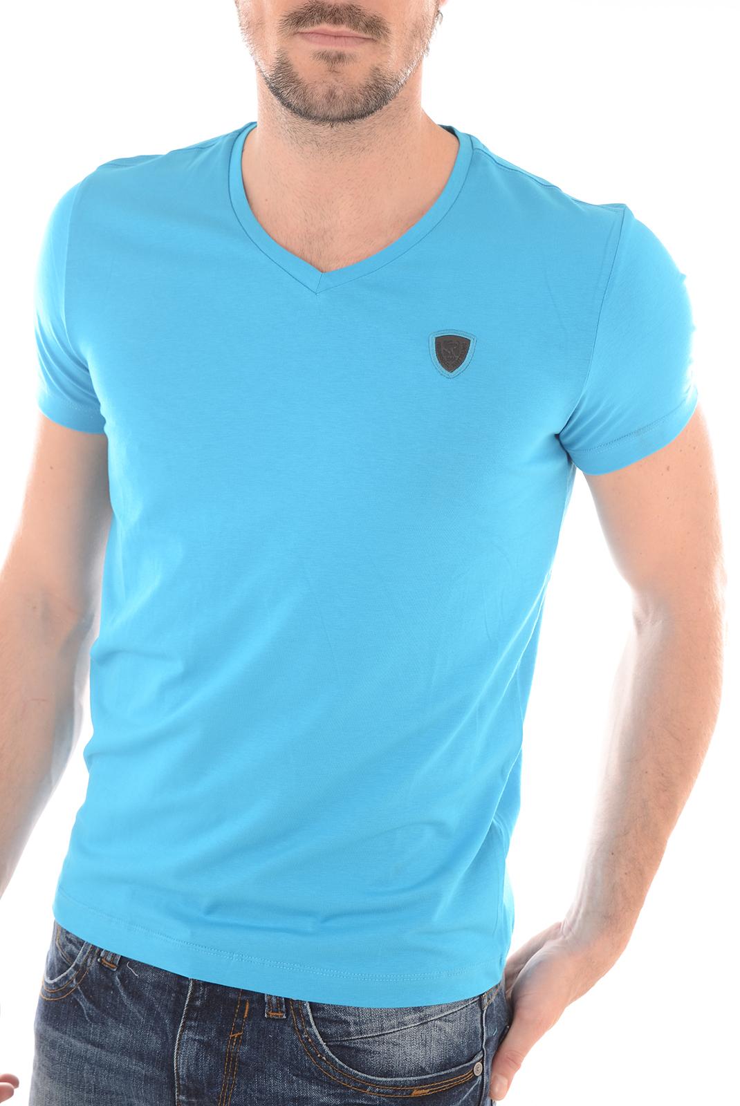 Tee-shirts manches courtes  Redskins WASABI CALDER H16 HAWAIEN BLUE