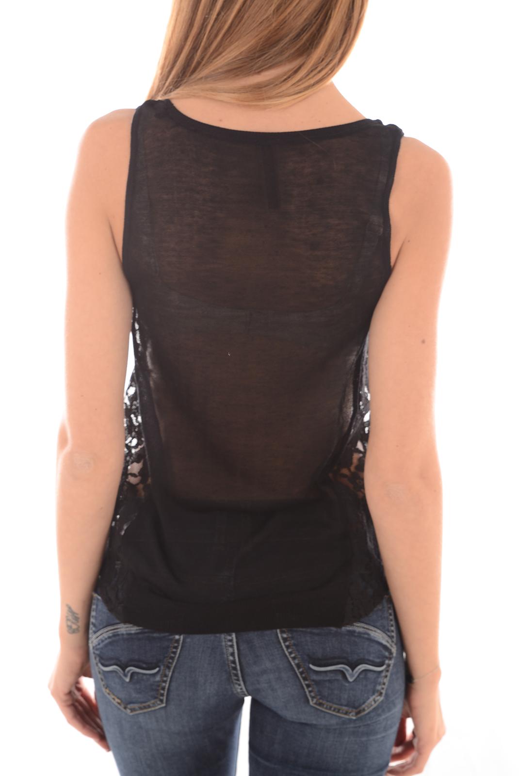 Tops & Tee shirts  Guess jeans W61R48Z0NJ0 A996 NOIR