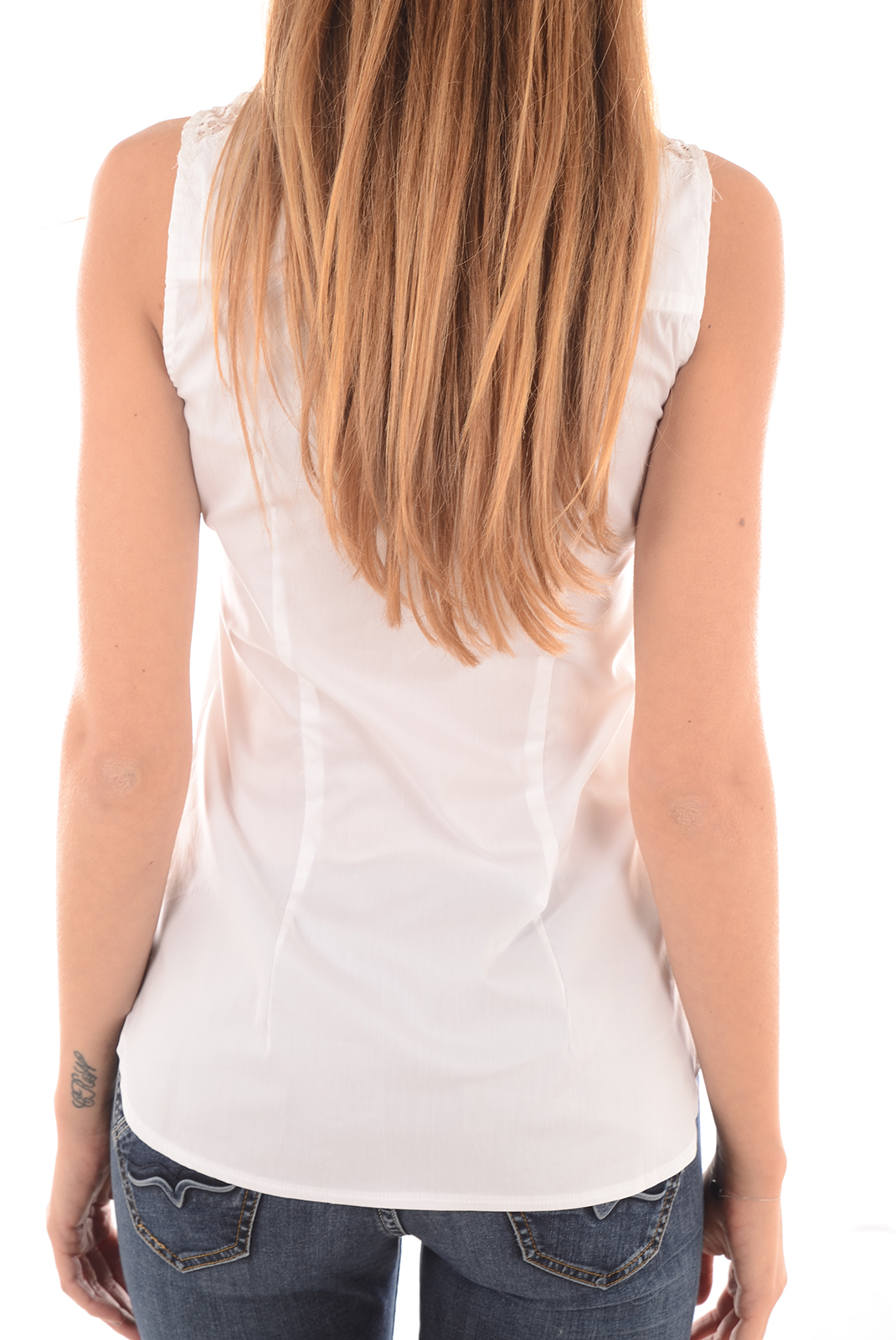 FEMME  Guess jeans W61H10EK600 A000 BLANC