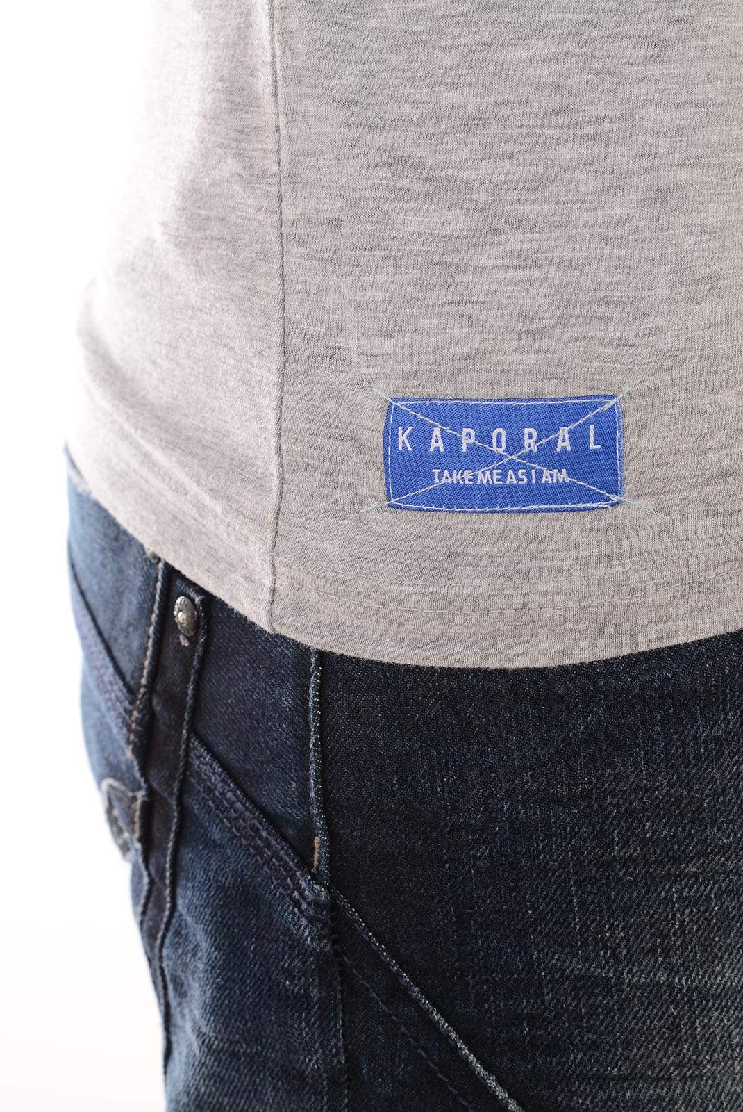 Tee-shirts  Kaporal TULIP GREY MELANGE