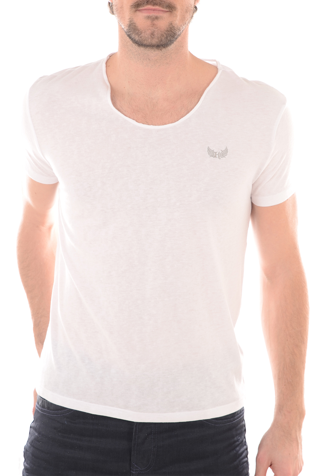 Tee-shirts  Kaporal SALVA WHITE