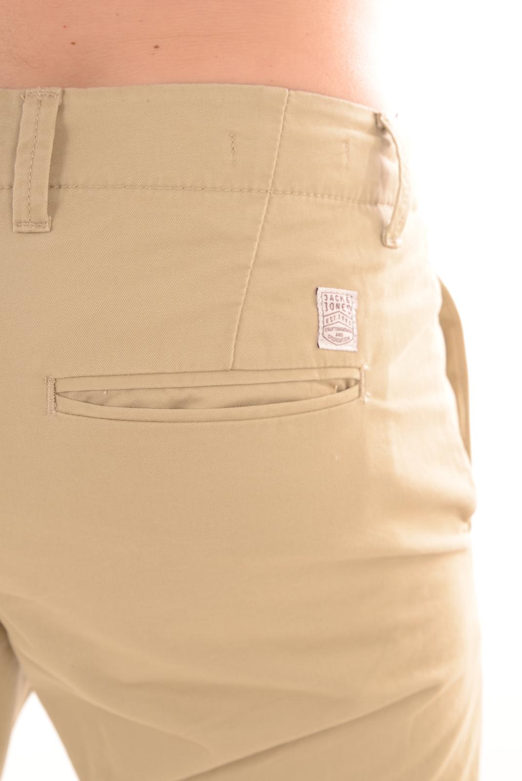Pantalons  Jack & Jones CODY GRAHAM 201 WHITE PEPPER