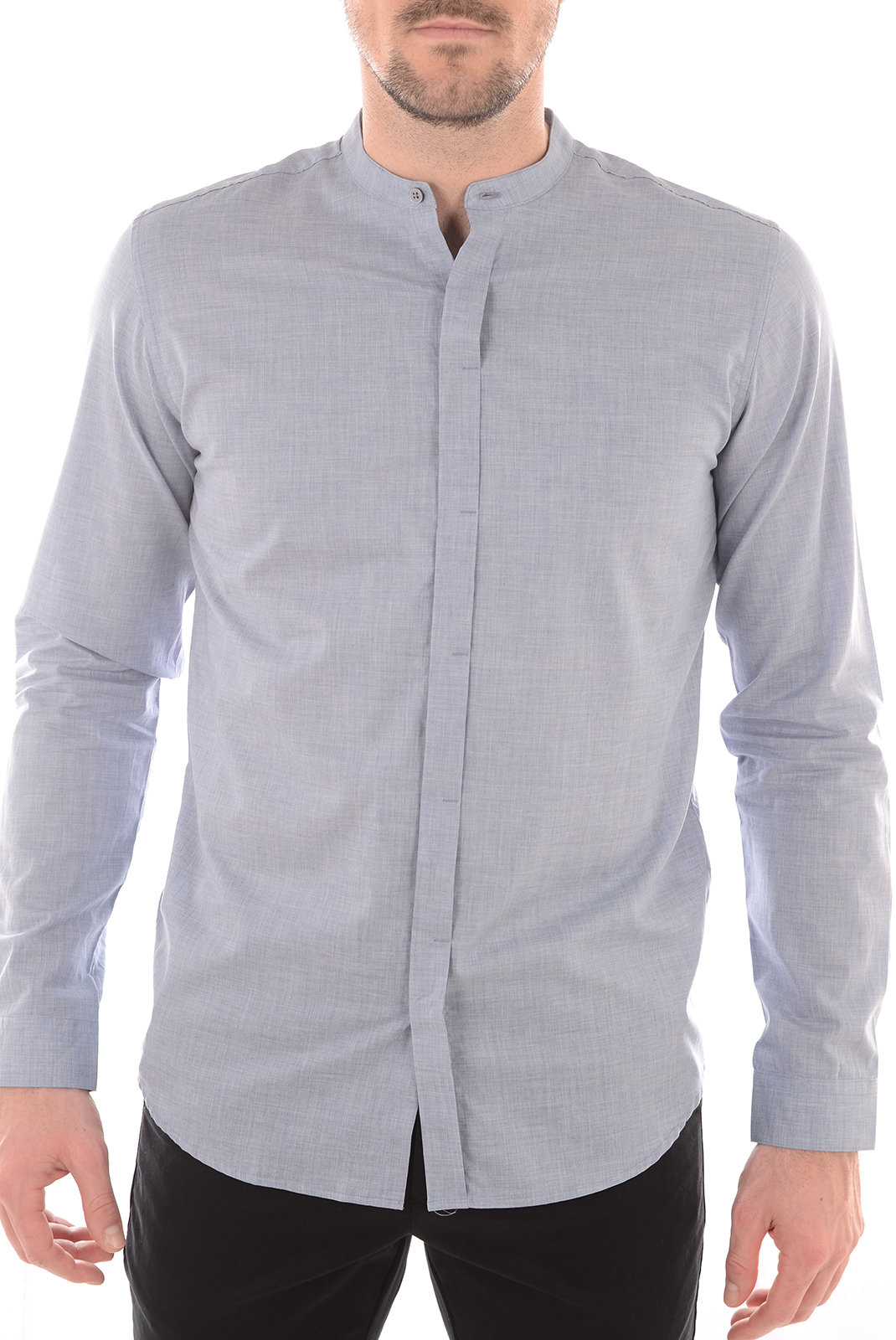 Chemises   Selected DONEATWOOD SHIRT LS LIGHT BLUE