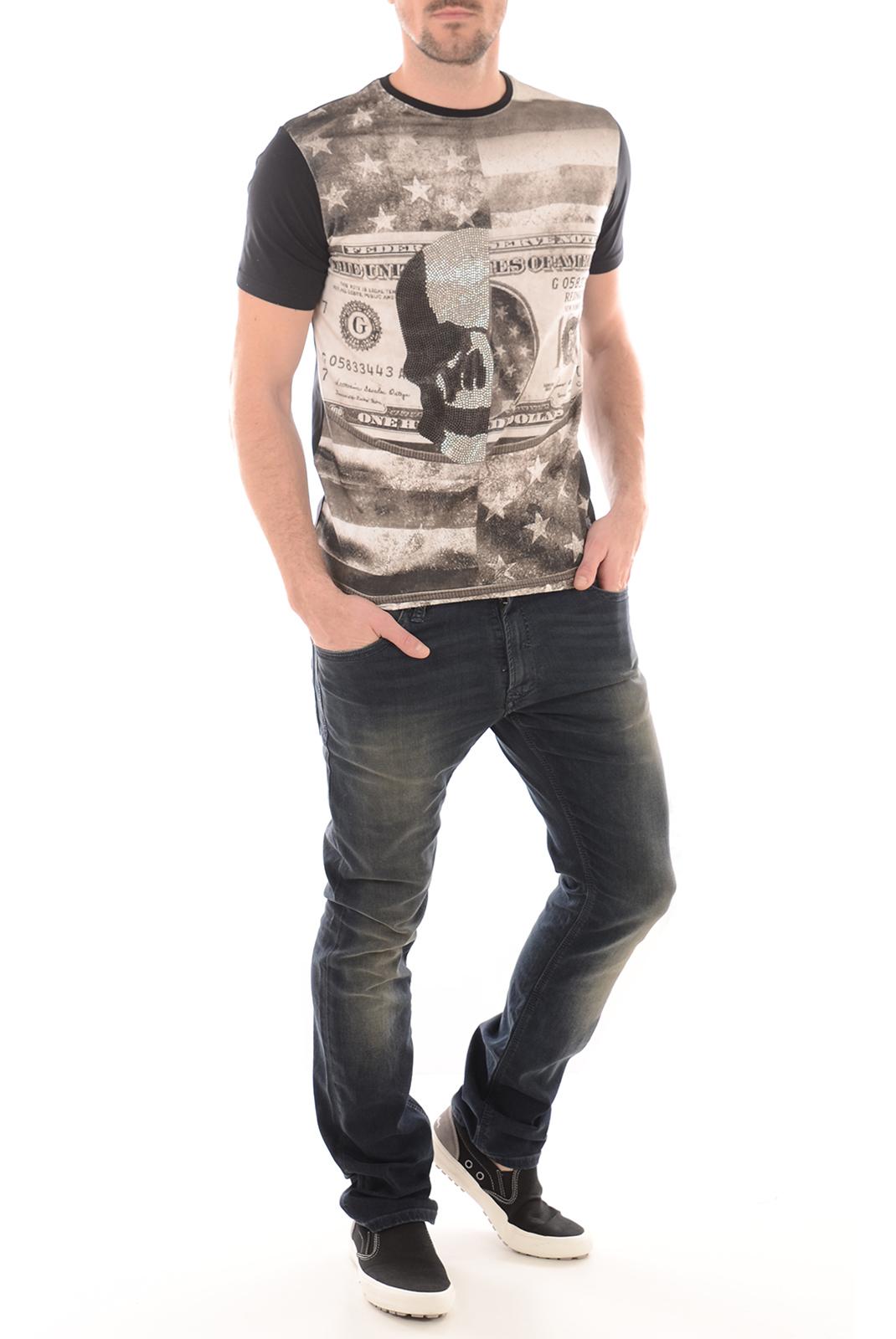 Tee-shirts manches courtes  Redskins RANNER SHUMAN BLACK