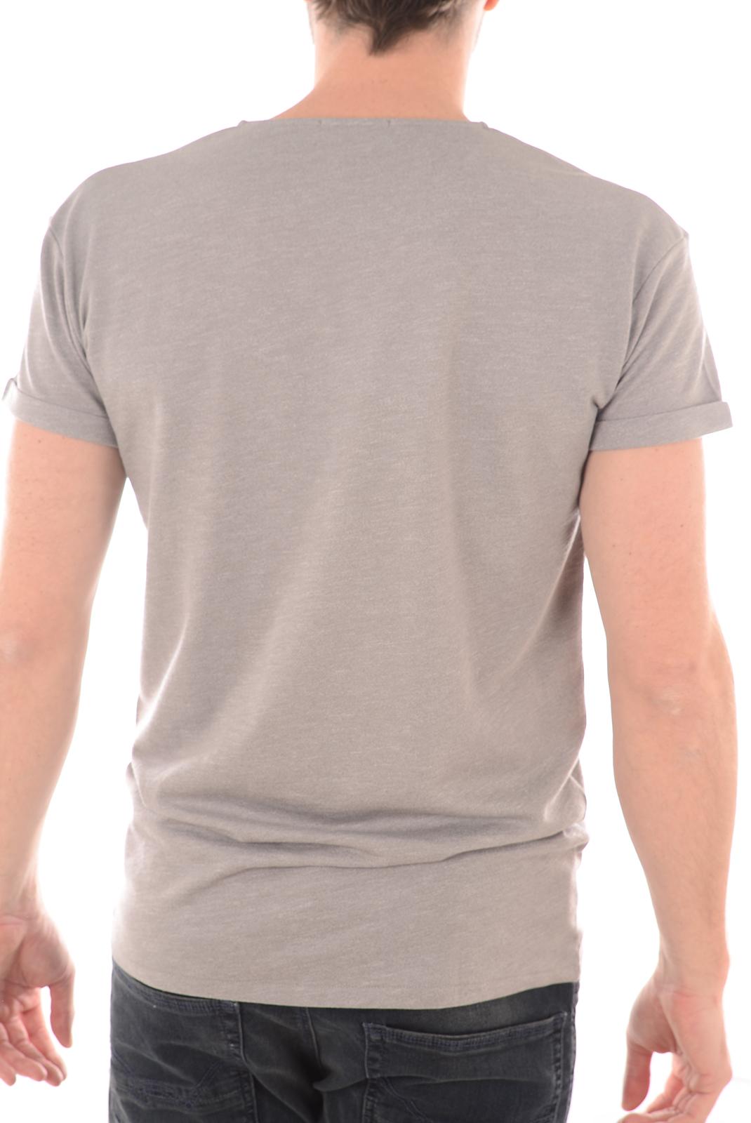 Tee-shirts  Selected BEECH SS TEE LIGHT GREY MELANGE