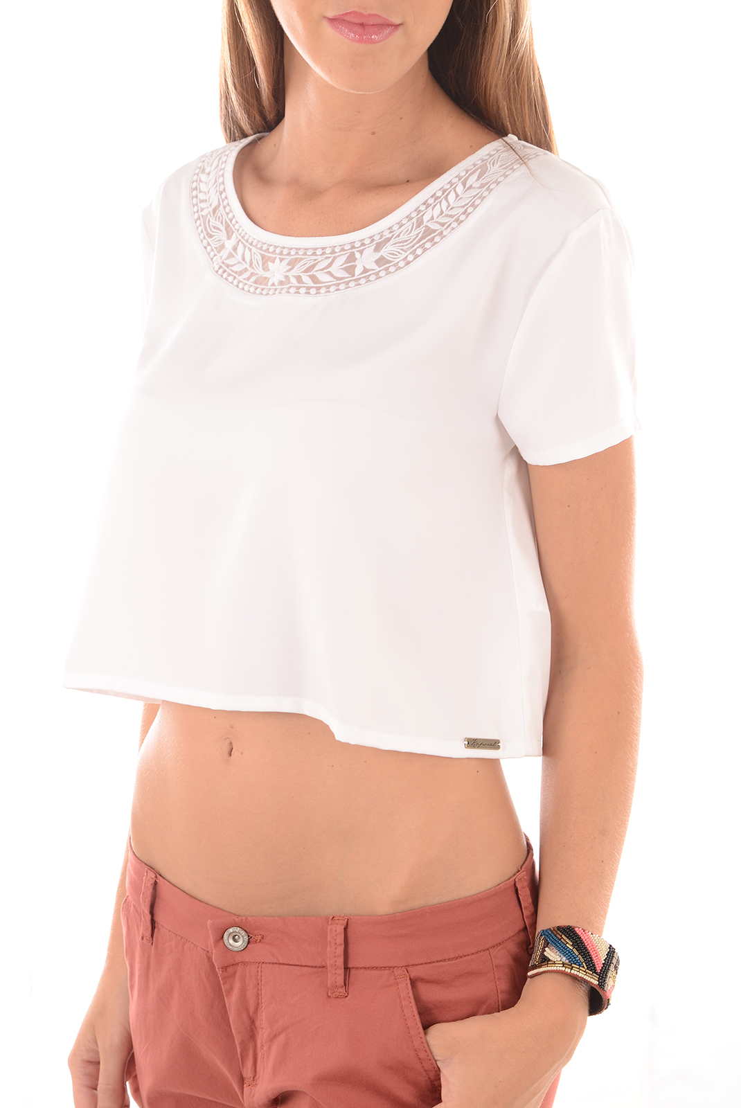 Tops & Tee shirts  Kaporal LAZER OPTICAL WHITE