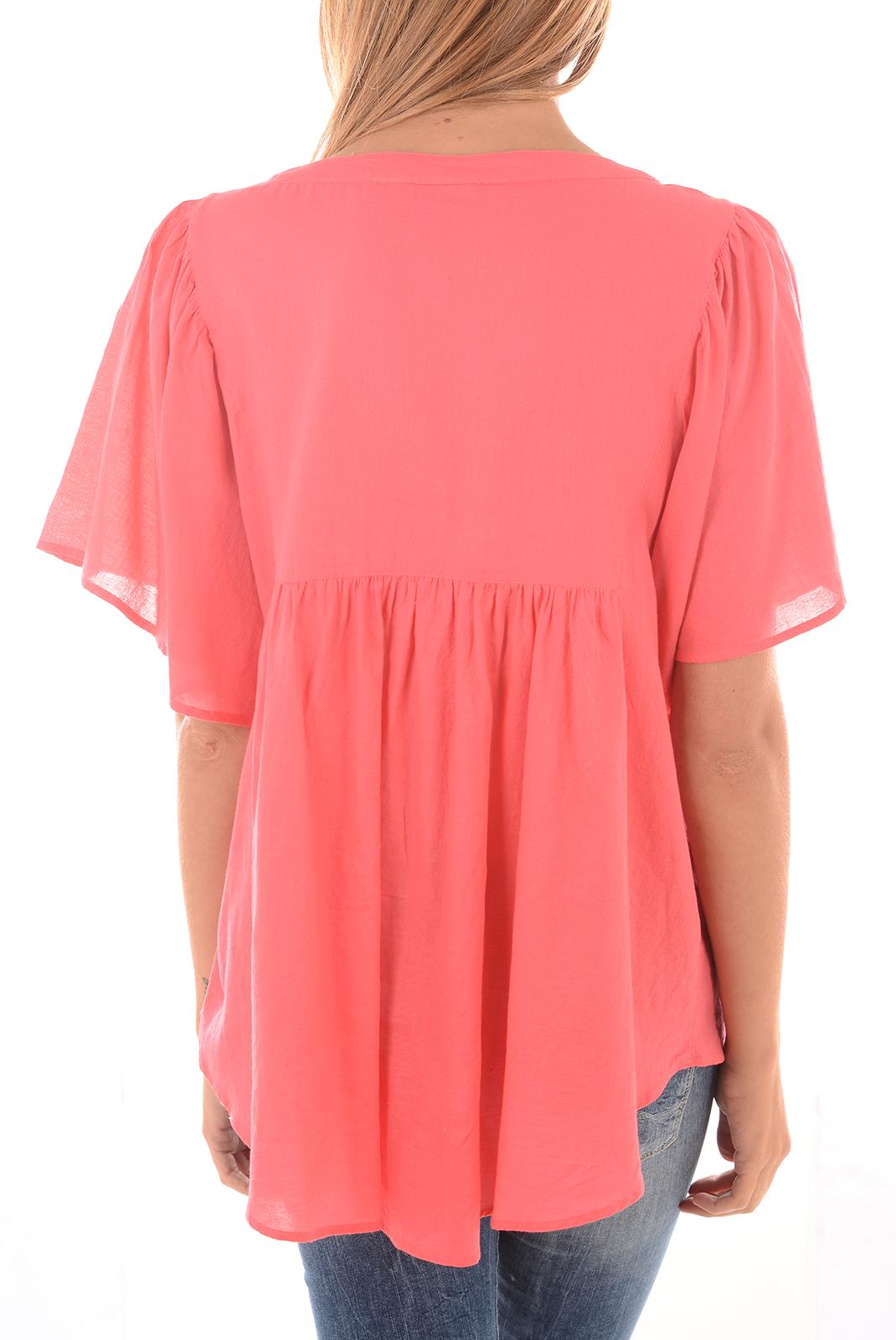 Tops & Tee shirts  Vero moda HUSSA SS TOP ROUGE RED