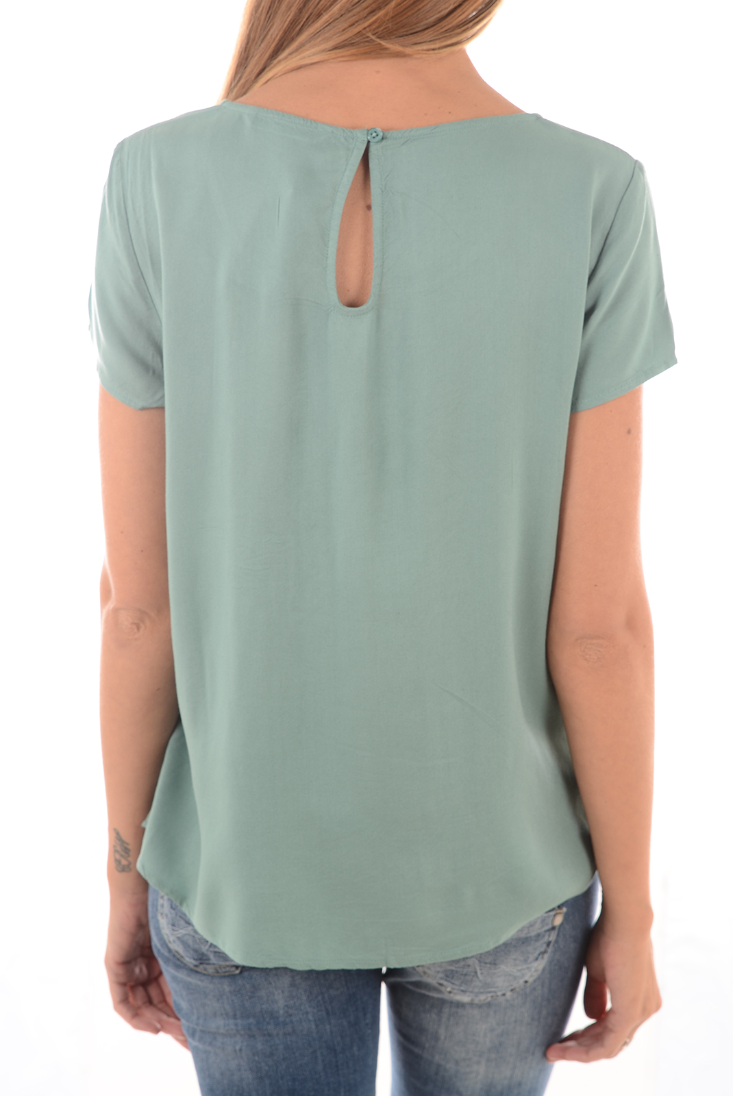 Tops & Tee shirts  Only GEGGO SS TOP NOOS OIL BLUE