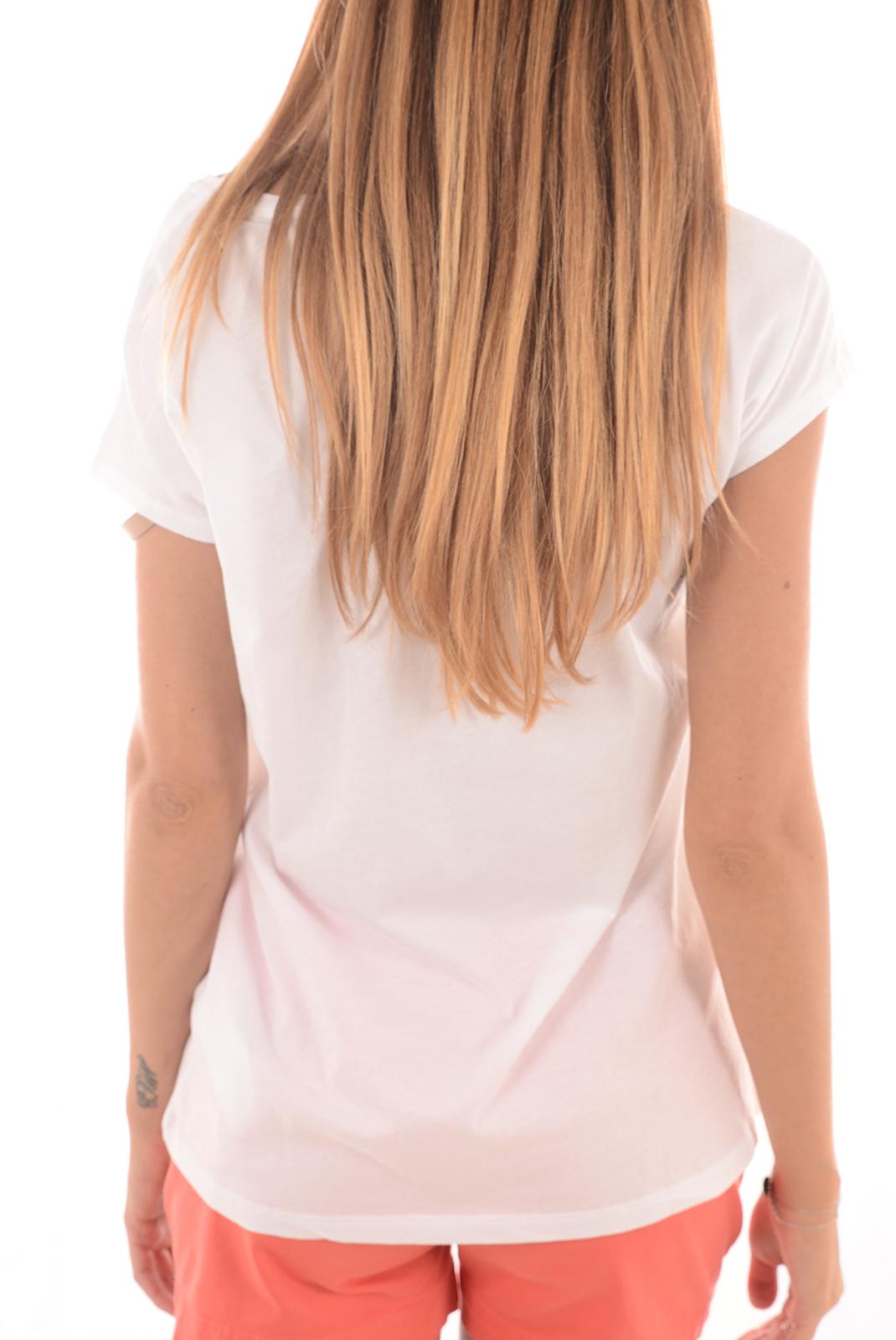 Tops & Tee shirts  Guess jeans W61I67K44J1 P570 BLANC