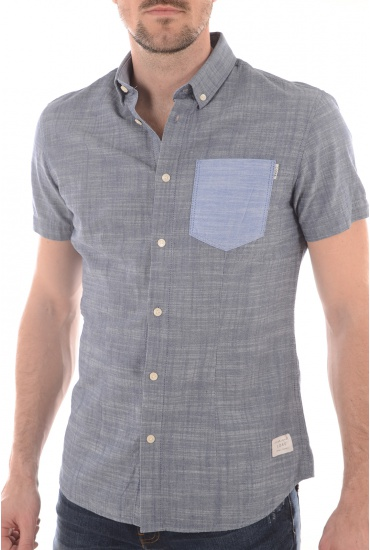 ALTON S/S ONE POCKET - HOMME JACK AND JONES