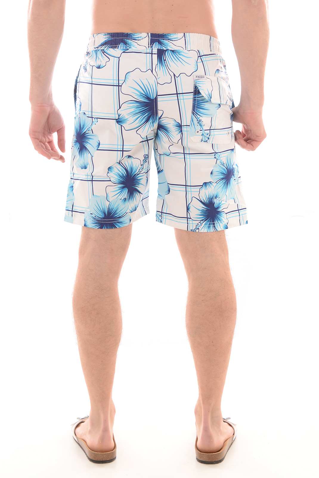 HOMME  Biaggio jeans BAMBOURUS WHITE NAVY