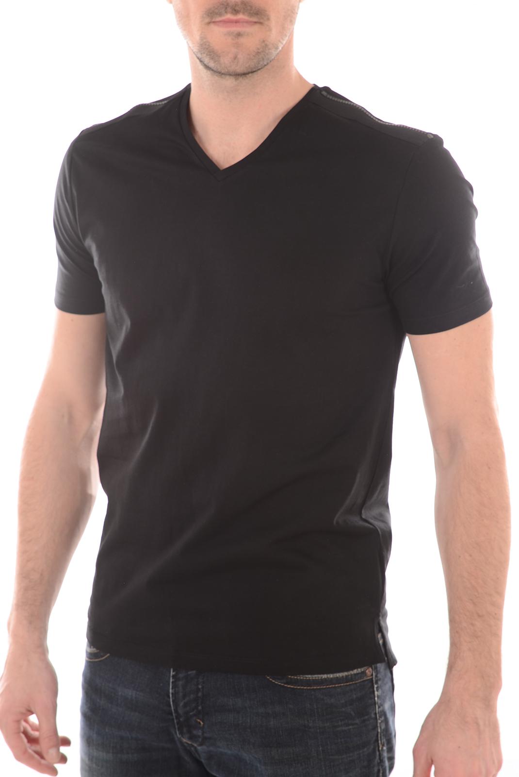 Tee-shirts  Antony morato MMKS00797 9000 NOIR
