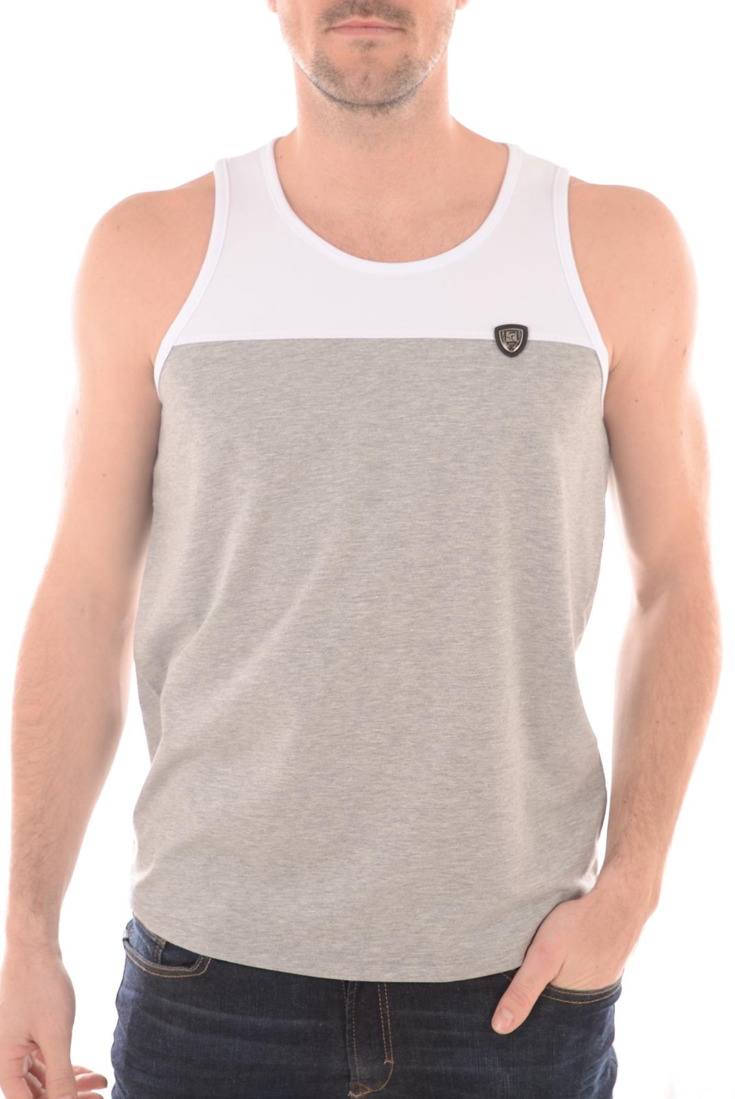 Tee-shirts  Redskins VULCANO WARNER GREY/CHINE/WHITE