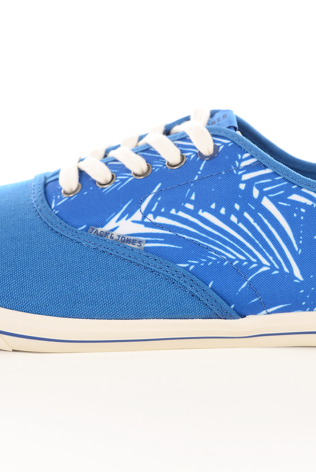 Chaussures   Jack & Jones SPIDER CANVAS PRINT SNEAKER IMPERIAL BLUE