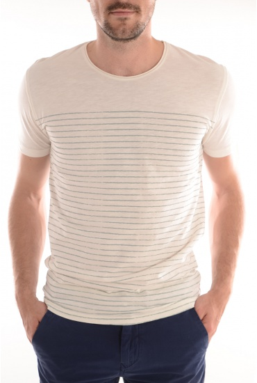 WATER SS O NECK - MARQUES JACK AND JONES