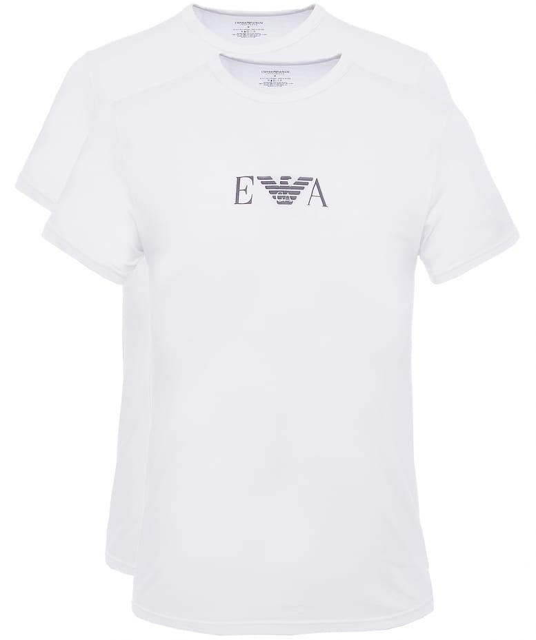 Tee-shirts  Emporio armani 111267 CC715 04710 WHITE