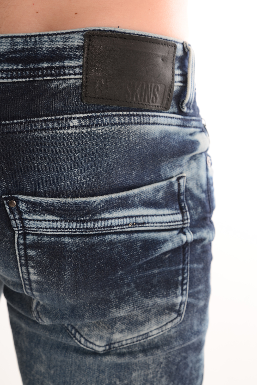 HOMME  Redskins TOMMY TOD BLUE USED