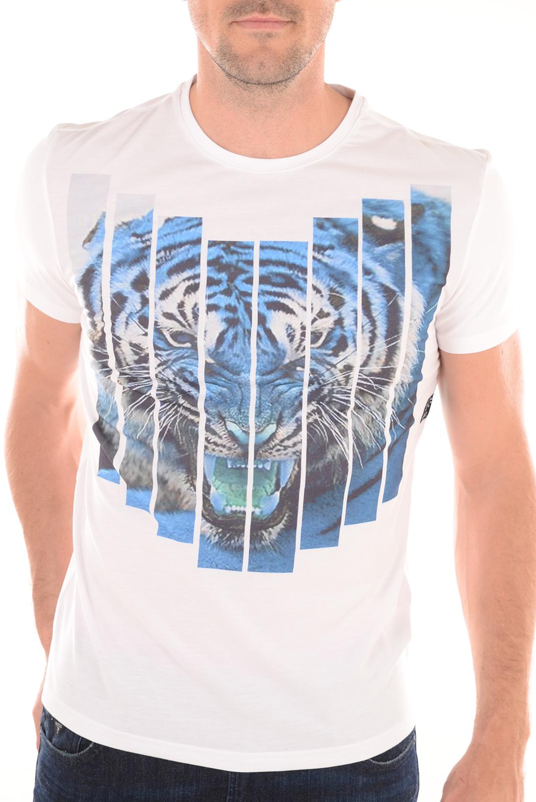 Tee-shirts  Redskins TIGER DIXON WHITE