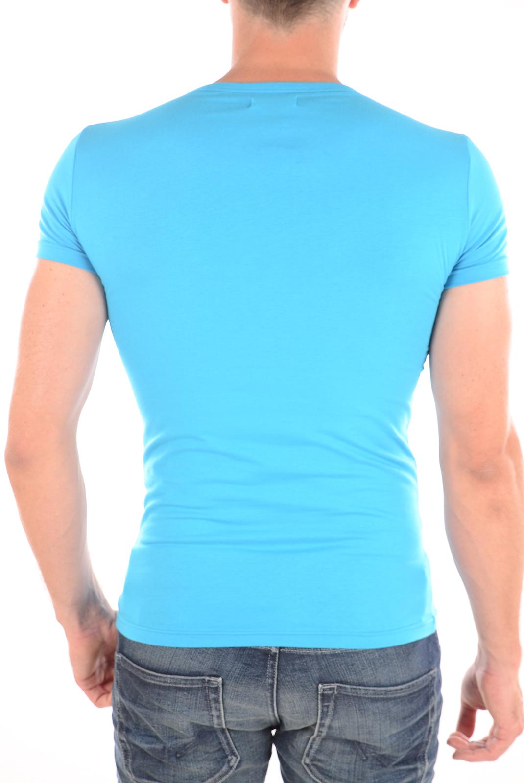 Tee-shirts  Emporio armani 111035 6P715 032 TURQUOISE