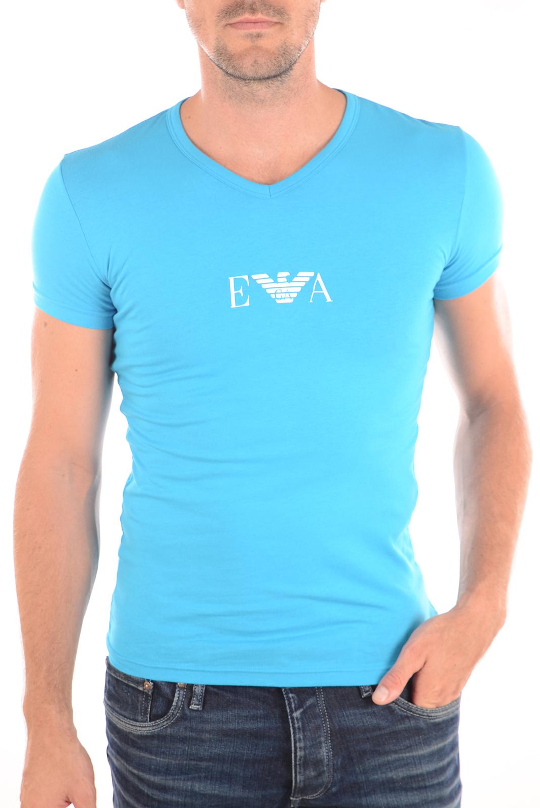 Tee-shirts  Emporio armani 110810 6P715 0032 TURQUOISE