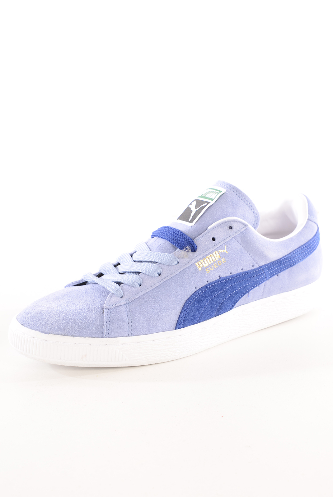 Chaussures   Puma 352634 SUEDE CLASSIC BLEU