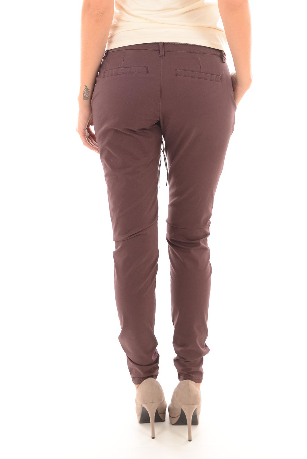 Pantalons  Only GARLAND BELT FUDGE