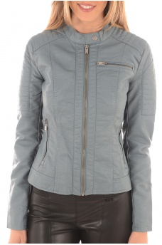 FEMME ONLY: NEW START FAUX LEATHER JACKET