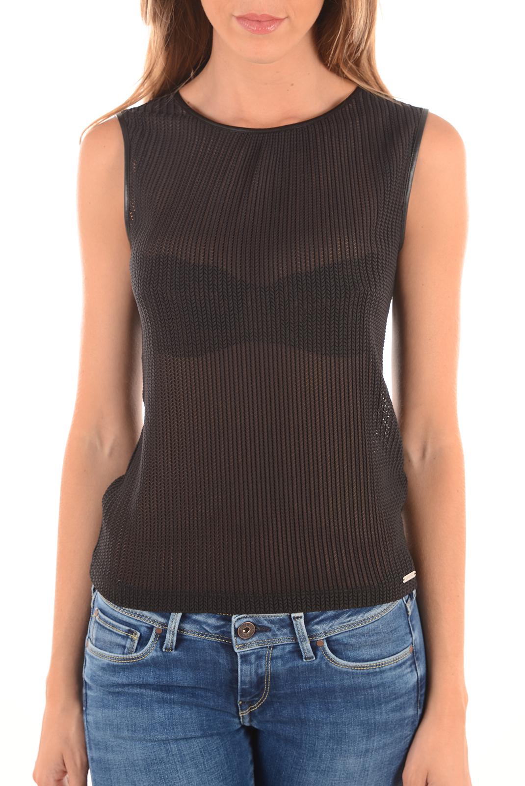 Tops & Tee shirts  Guess jeans W62P54K4JK0 A996 NOIR