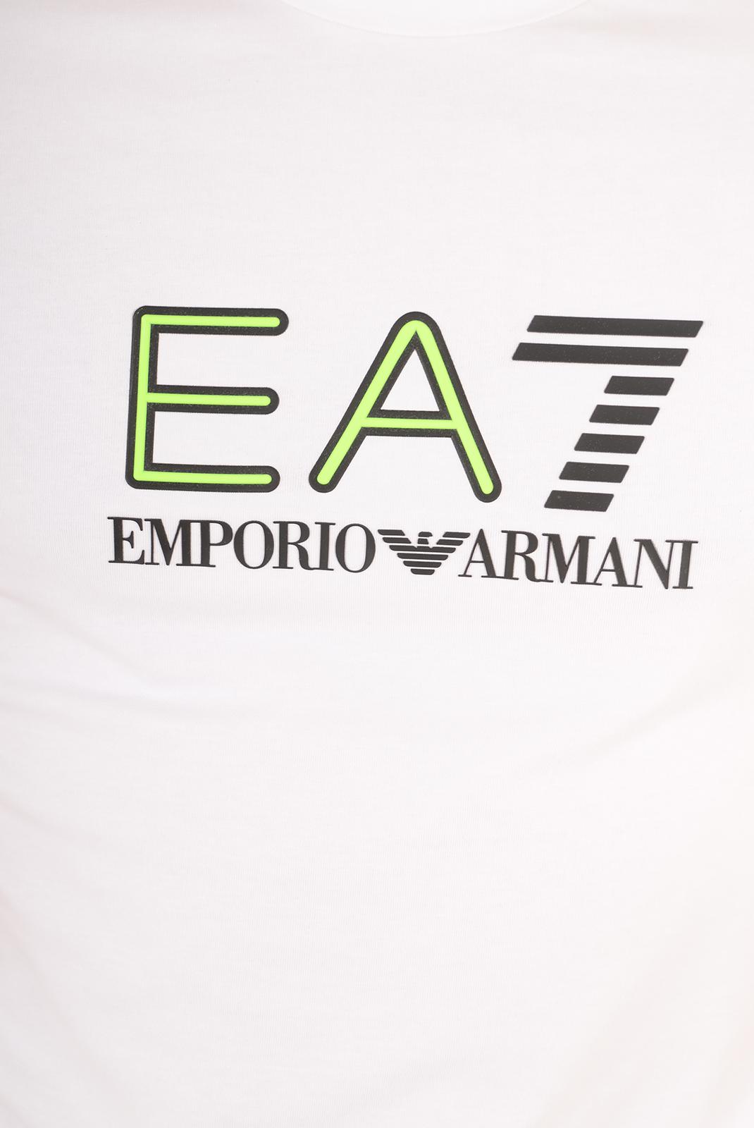 Tee-shirts  Emporio armani 273908 6P206 010 BLANC