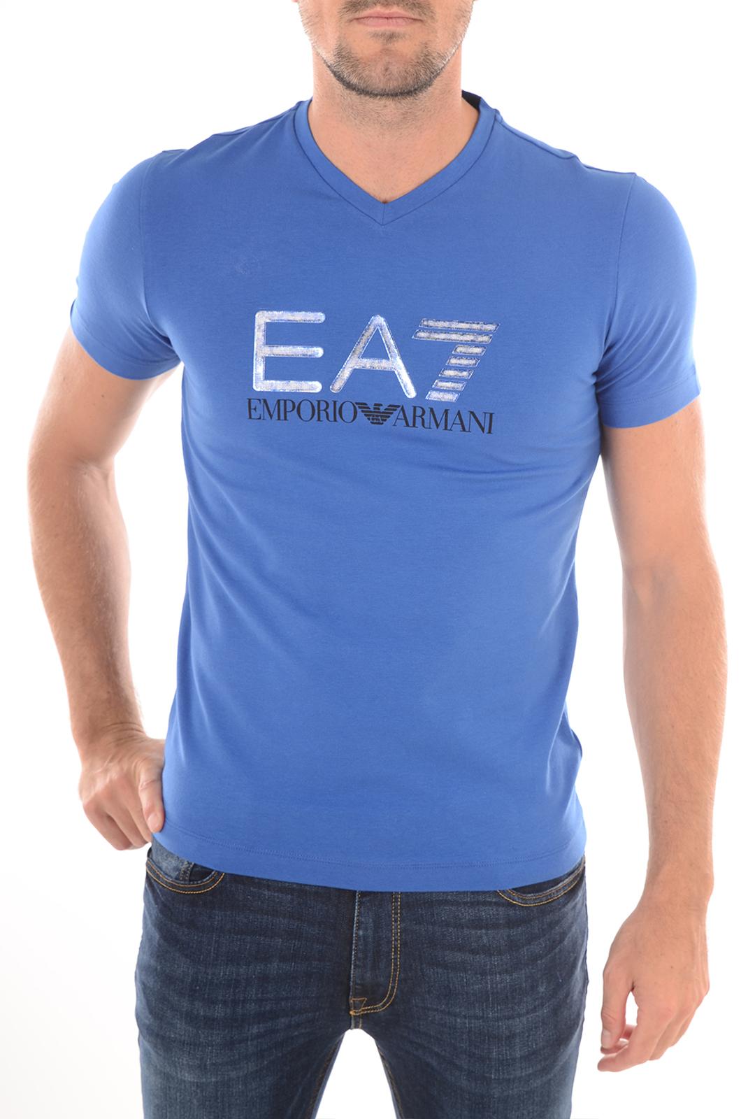 Tee-shirts  Emporio armani 273911 6P206 033 ROYAL