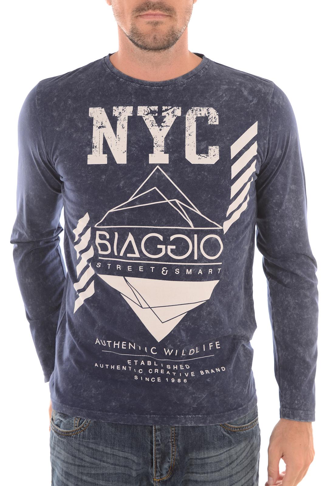 Tee-shirts  Biaggio jeans LAYLA INDIGO