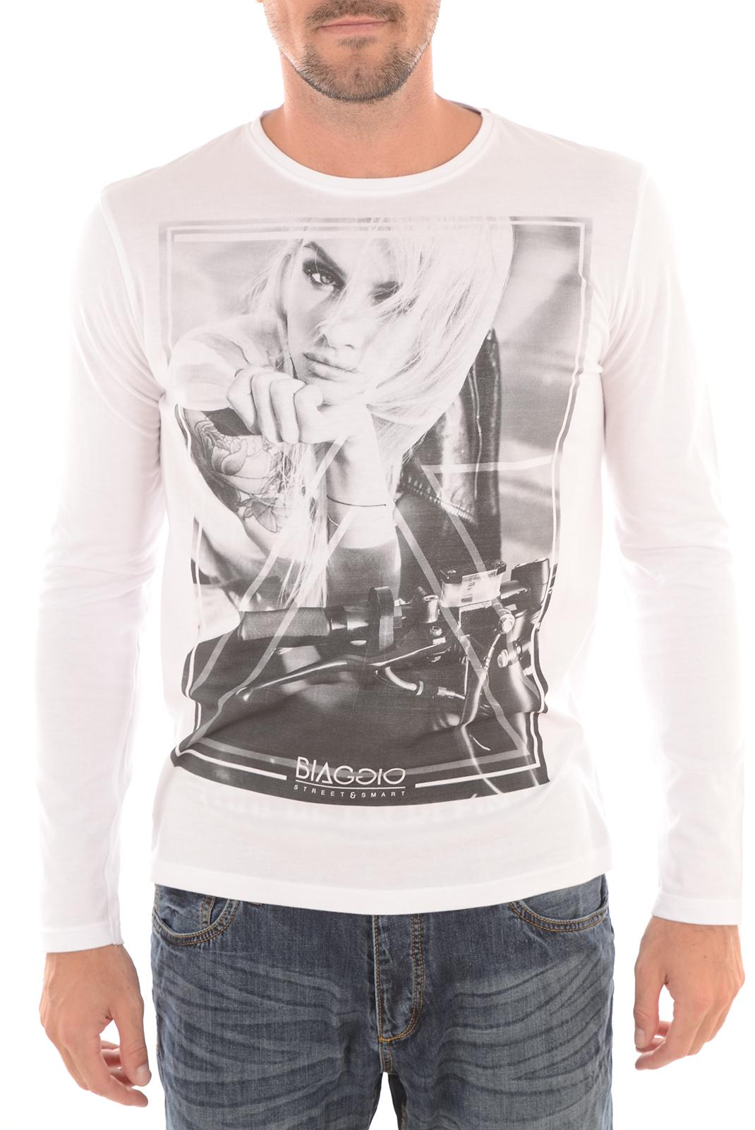 Tee-shirts  Biaggio jeans LEABELA BLANC