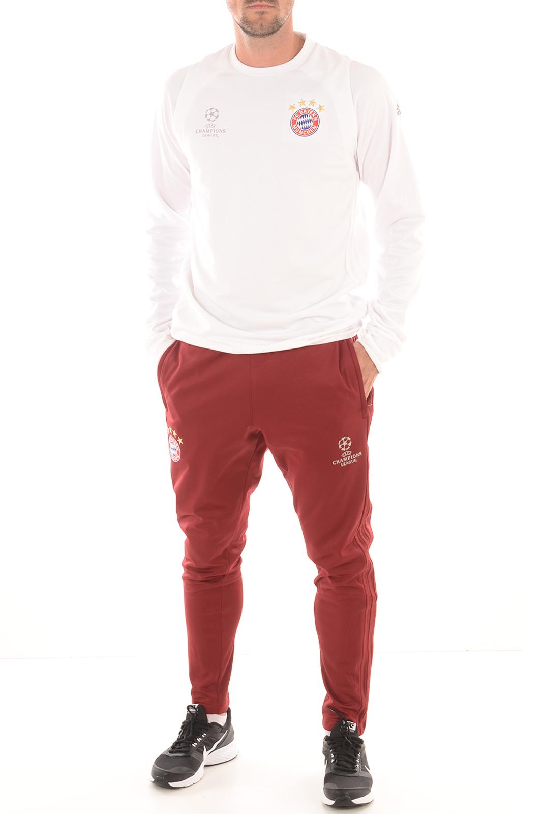 Pulls & Gilets  Adidas AO0335 SWEAT BAYERN EU TRG blanc