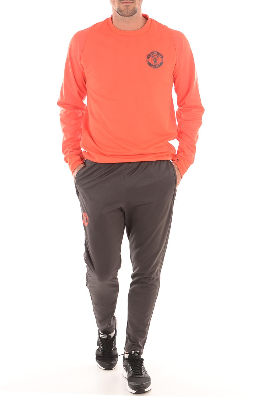 Pulls & Gilets  Adidas AP1047 SWEAT MAN UTD EU TRG rouge