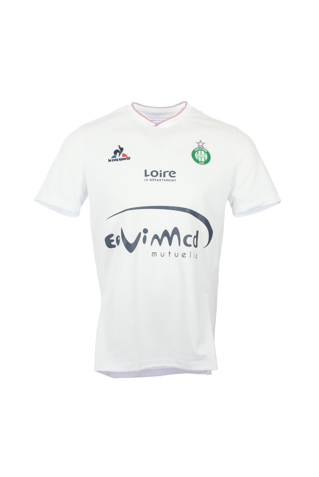 Tee-shirts  Le coq sportif 1520431 ASSE BLANC