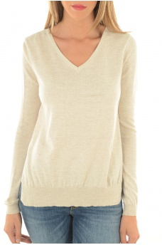 FEMME ONLY: OXFORD L/S KNT