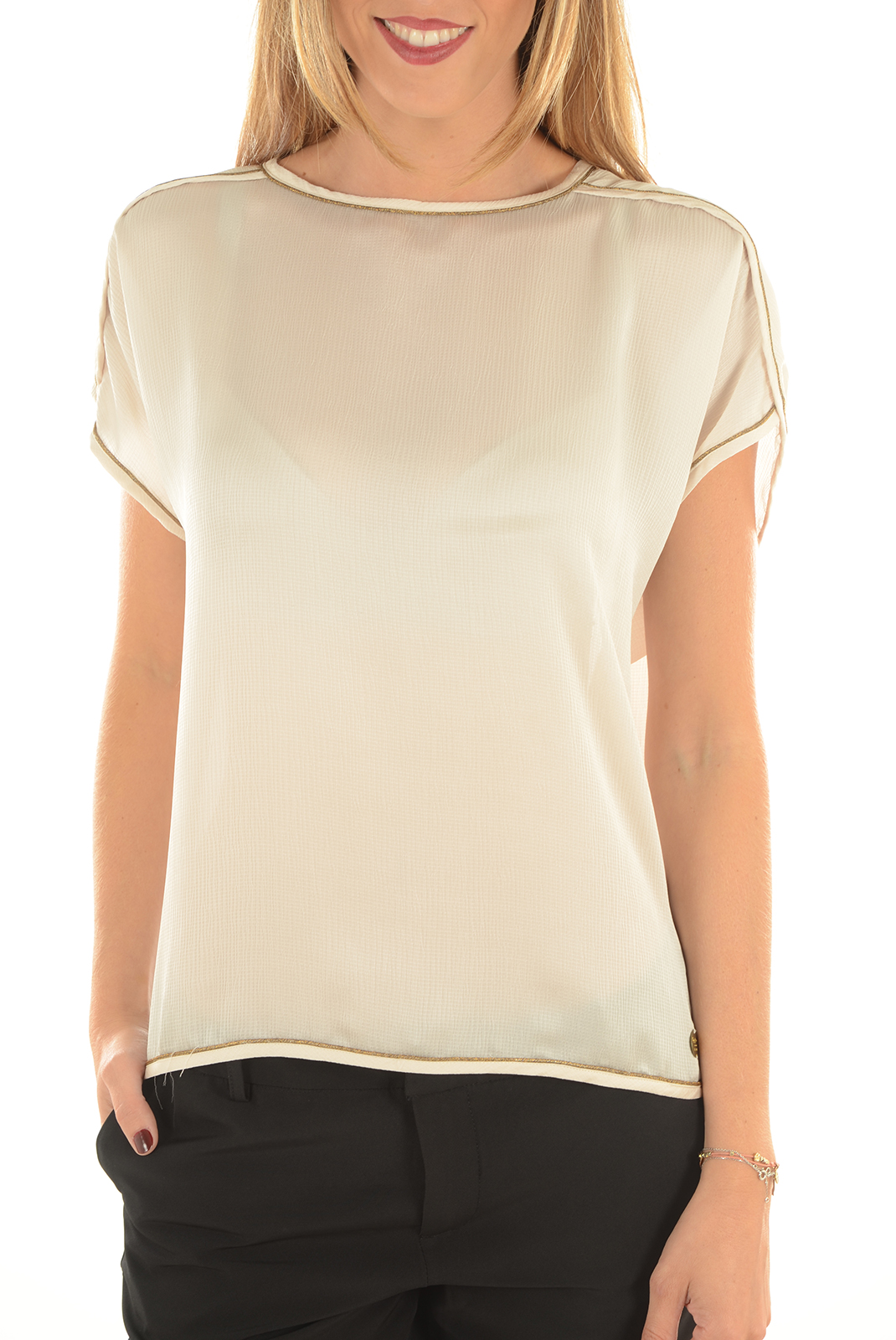 Tops & Tee shirts  Pepe jeans PL301504 ARLEY 806 CANDLE