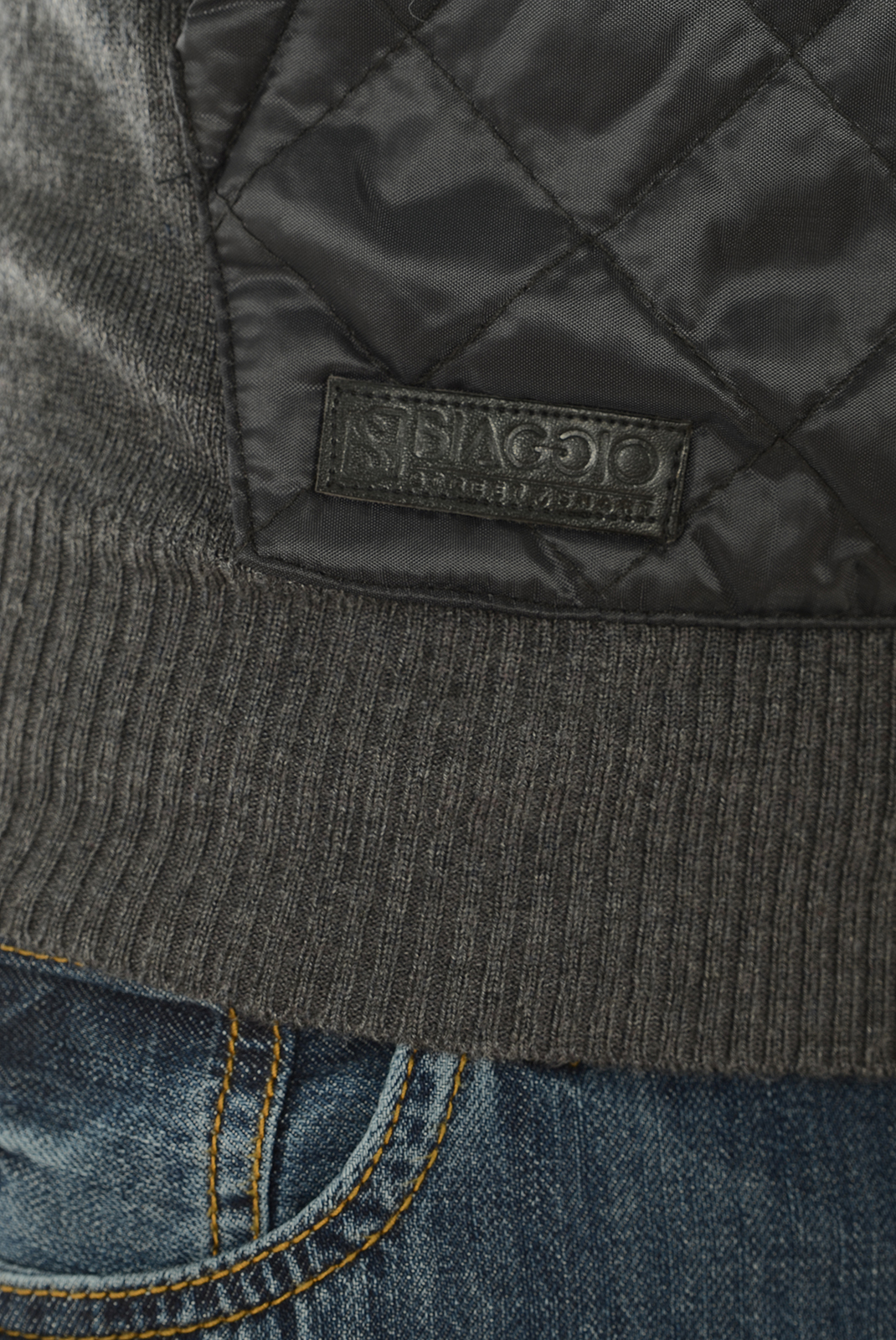Pulls & Gilets  Biaggio jeans PURALIL GRIS FONCE