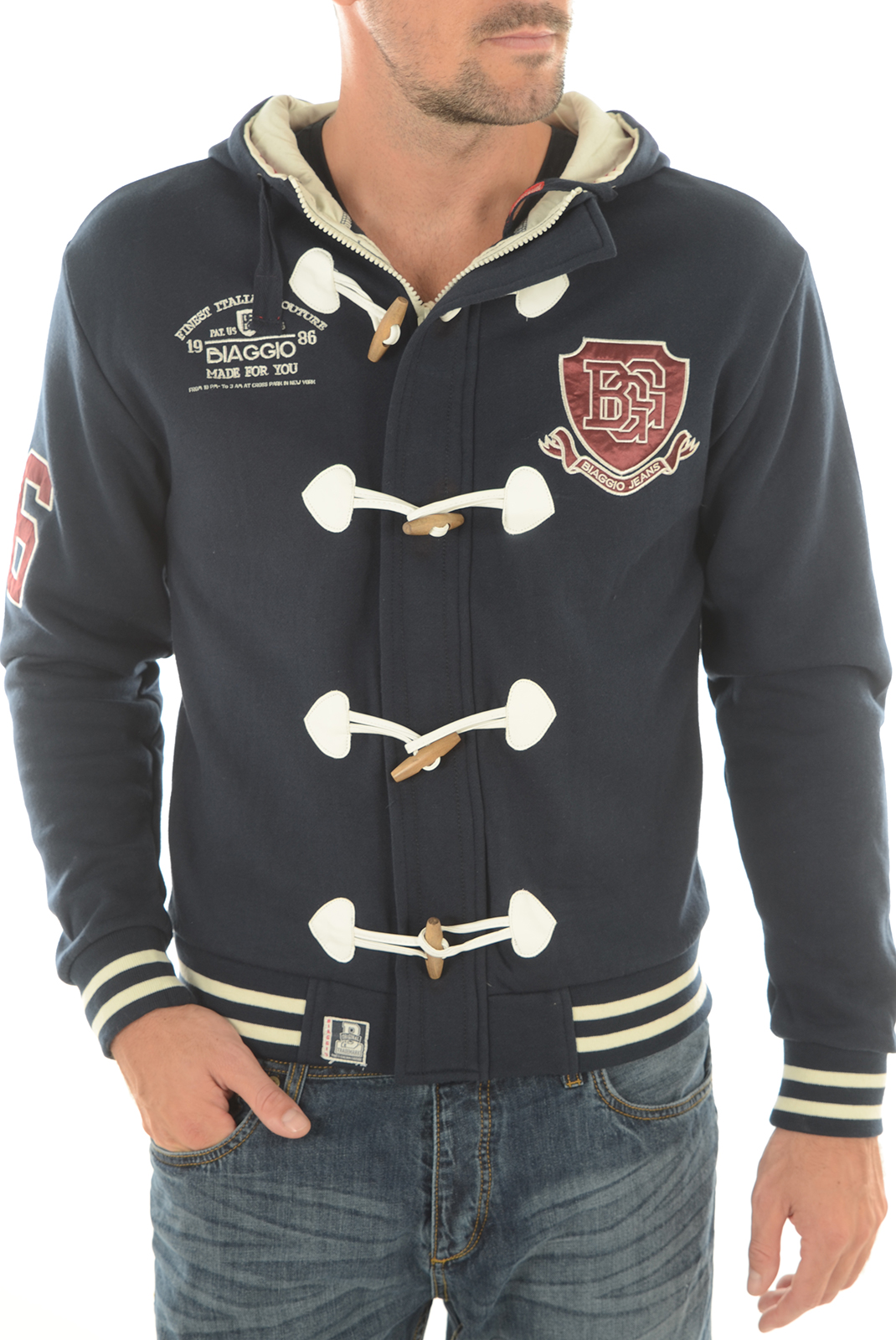 Pulls & Gilets  Biaggio jeans SONAL NAVY
