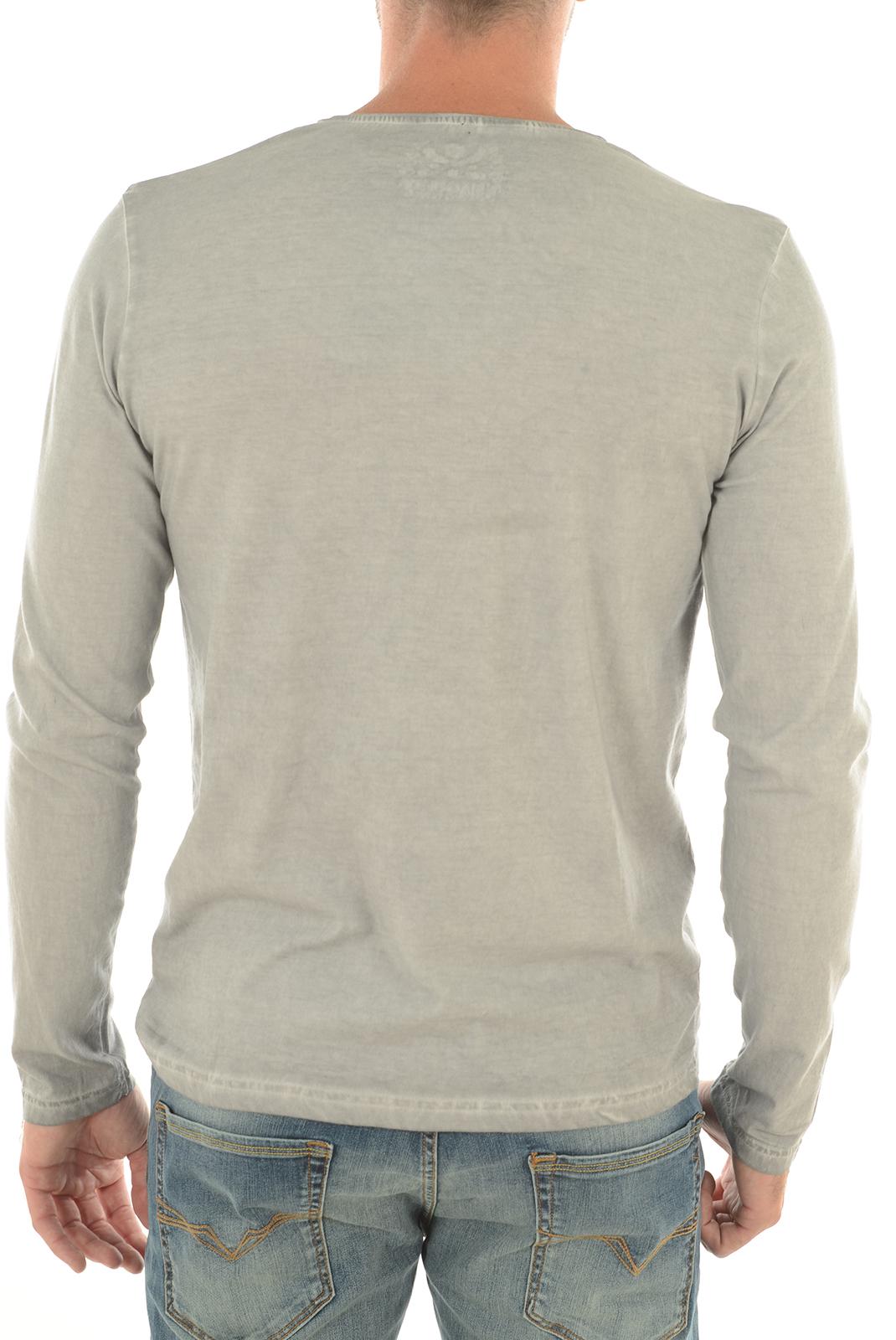 Tee-shirts  Biaggio jeans LUMIL GRIS CLAIR