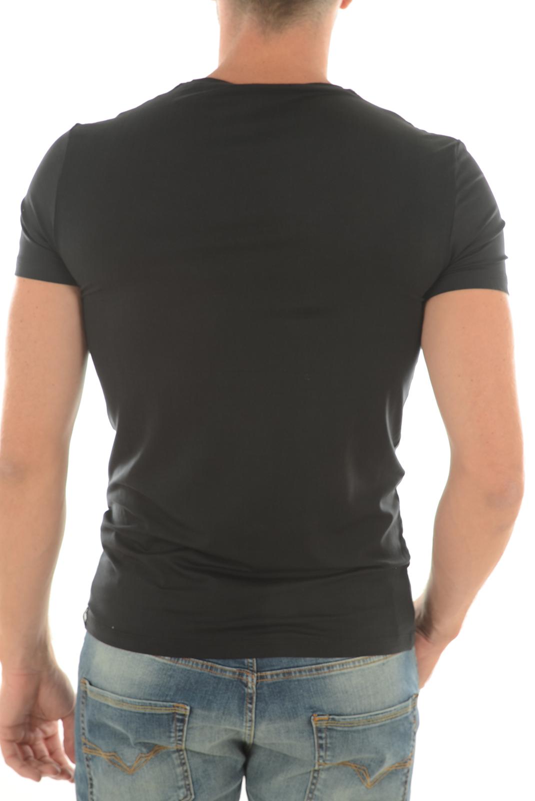 Tee-shirts  Guess jeans U64M22LYO11 A996 NOIR