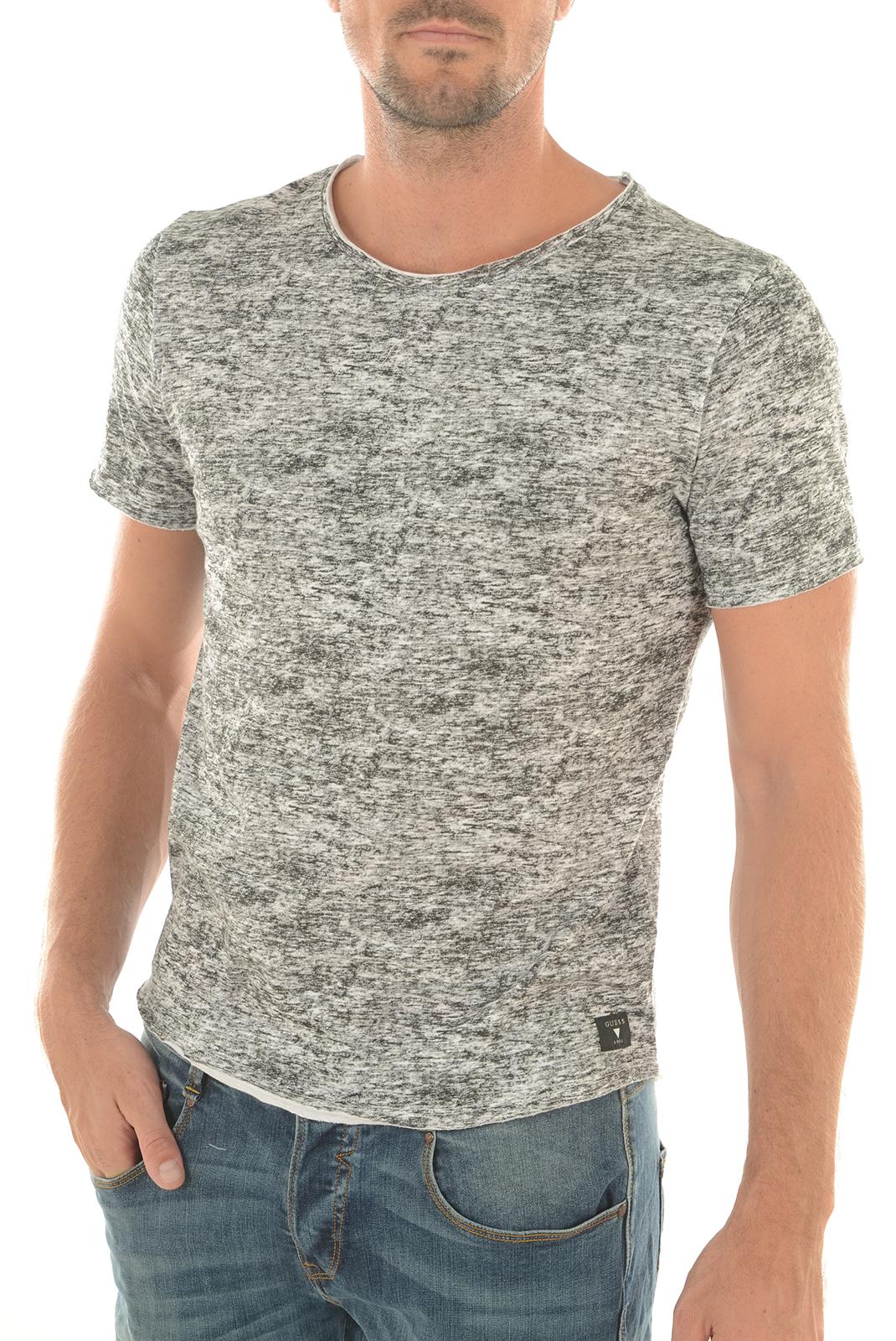 Tee-shirts  Guess jeans M63P50K4QU0 P087 GRIS