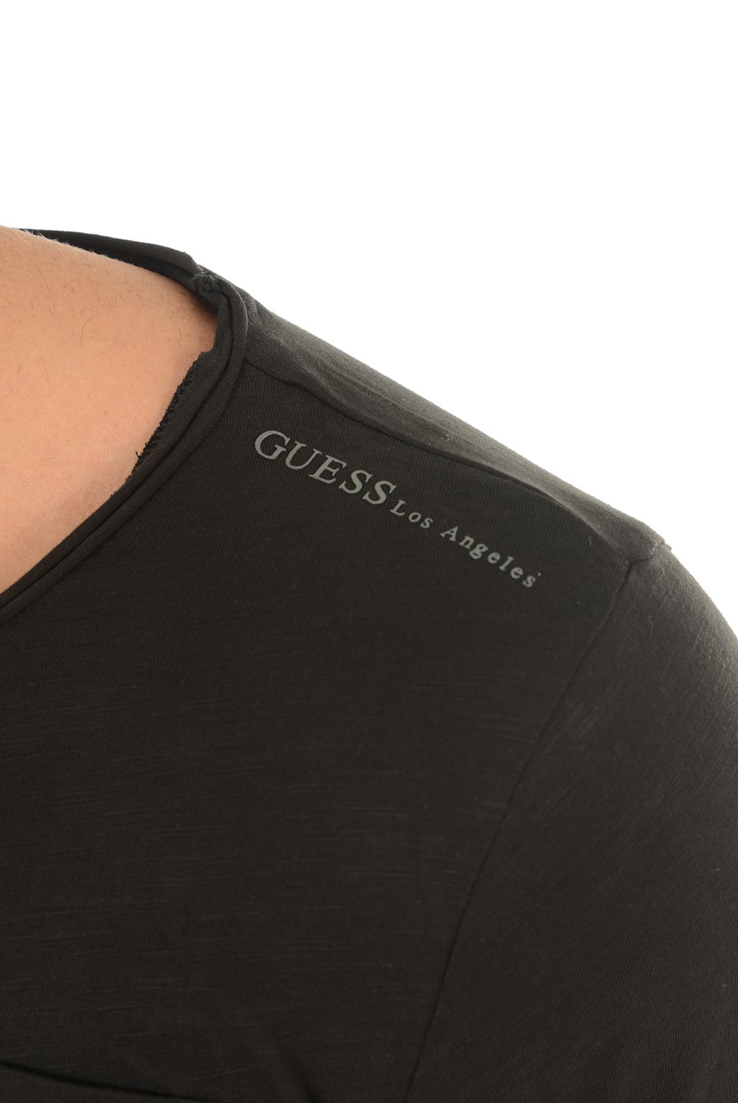 Tee-shirts  Guess jeans M63P49K4NV0 A996 NOIR