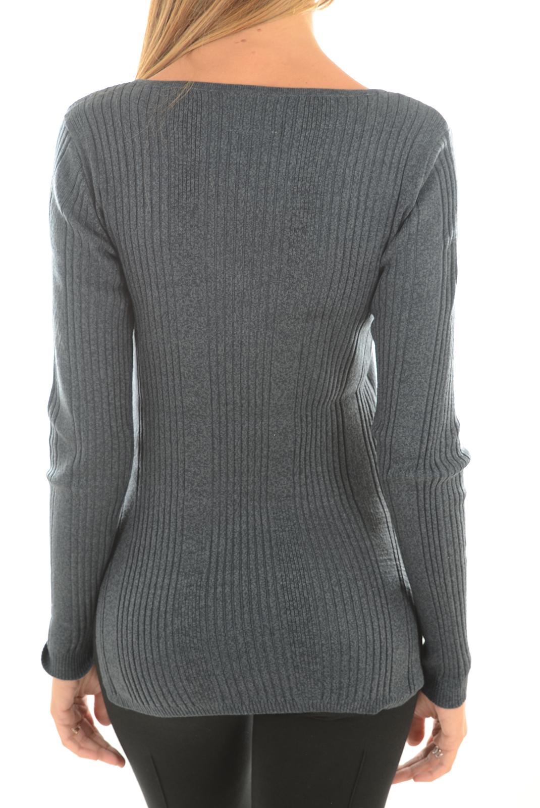 Pulls & gilets  Vero moda NIMBO LS V-NECK BLUE