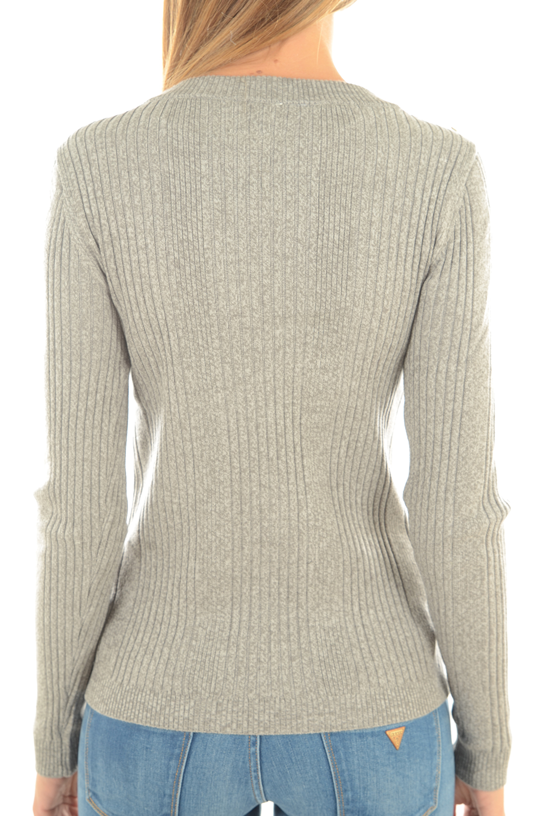 Pulls & gilets  Vero moda NIMBO LS BUTTON LIGHT GREY