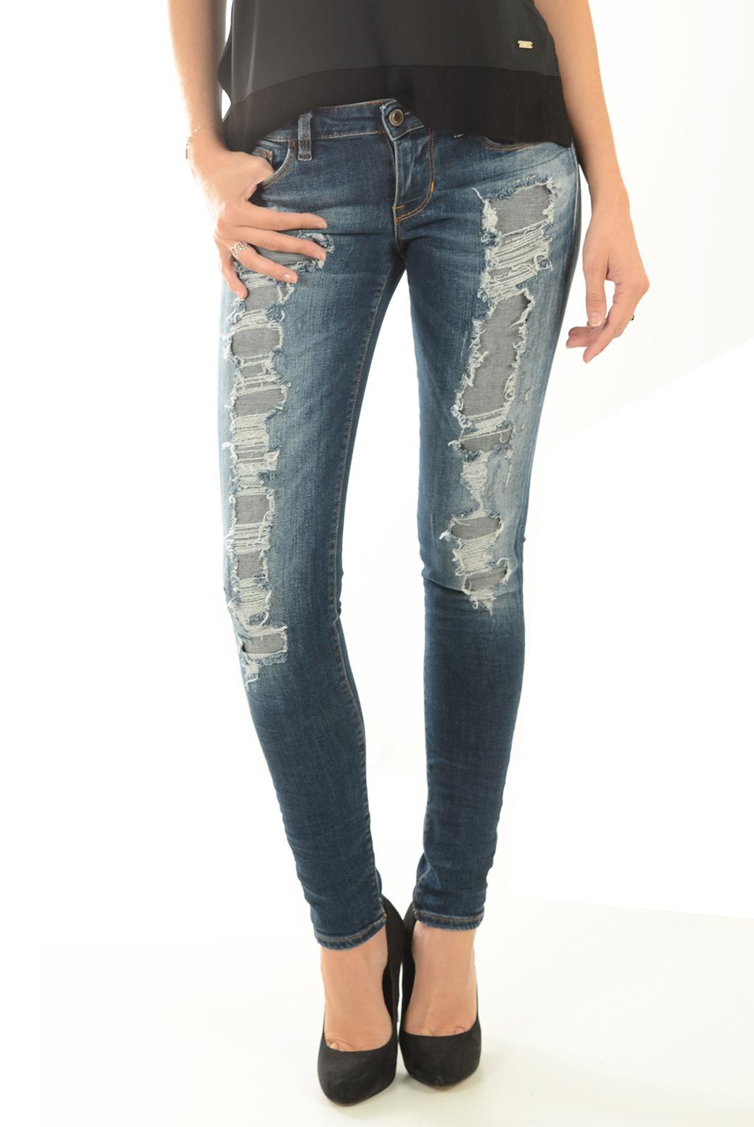 Jeans   Guess jeans W63A31D2720 DAKI BLEU