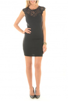 FEMME VERO MODA: ELENTA S/L SHORT DRESS
