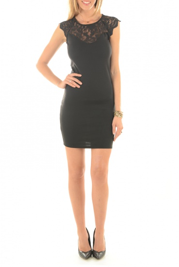 ELENTA S/L SHORT DRESS - FEMME VERO MODA